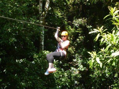 Ziplining through Monte Verde Cloud Forest