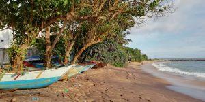 Beach south coast Sri Lanka