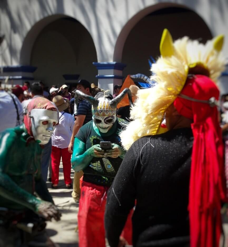 Carnival in San Martin Tilcajete - Oaxaca, Mexico Copyright lostwanders.co.uk