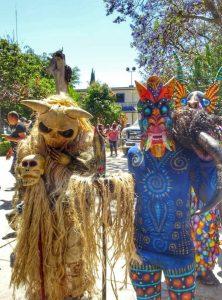 Carnival in San Martin Tilcajete - Oaxaca, Mexico Copyright lostwanders.co.uk