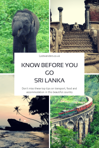What to see in Sri Lanka
