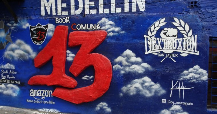 Comuna 13, Medellin. From Notorious to tourist hot spot