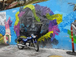 Street Art Comuna 13 District 13 Medellin Colombia