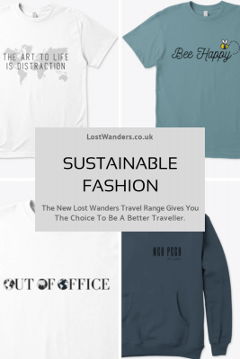 Sustainable fashion Lost Wanders