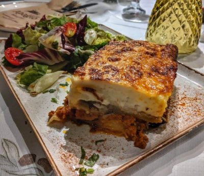 Moussaka in Greece Best food in Europe